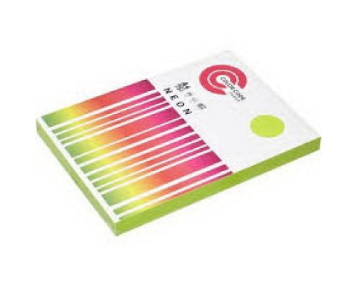 Бумага офисная A4 50 листов COLOR CODE NEON пл.75гр/м2, зеленая БЕЗ СКИДКИ